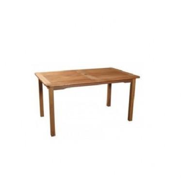 180 X 90CM RECT POST LEG DINING TABLE