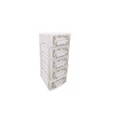 5 Tiers Drawer (IVORY)