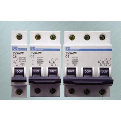 40A - 63A - 1 POLE - Miniature Circuit Breakers (6KA) - EVERNEW