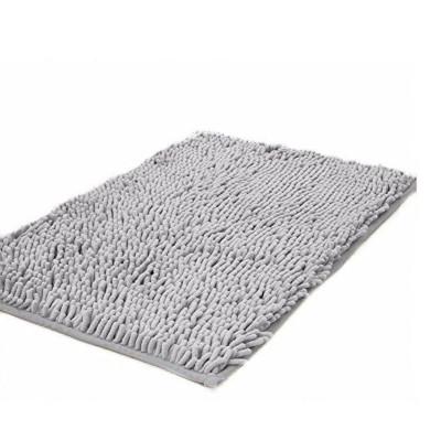 Microfiber rugs chenille plush floor mat