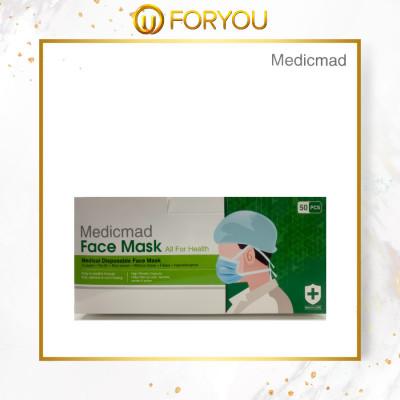 MEDICMAD 3 Layers Tie-on Medical Disposable Face Mask (50pcs)
