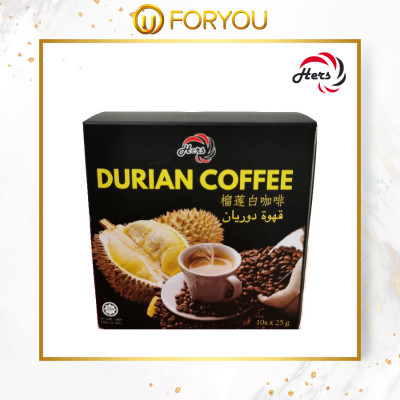 HERS Durian Coffee (10s x 25g)