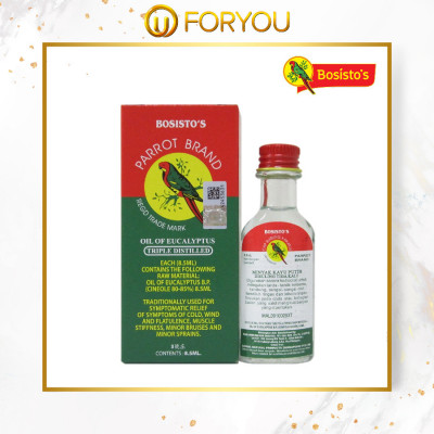 BOSISTO'S PARROT BRAND Eucalyptus Oil