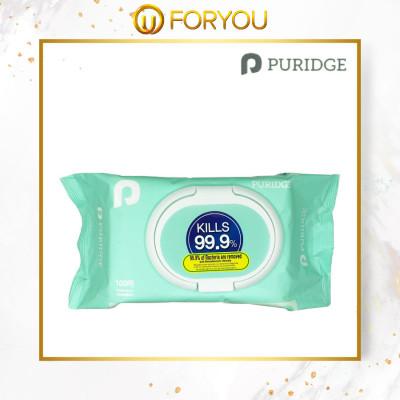 PURIDGE Antibacterial Wet Tissues (100's)
