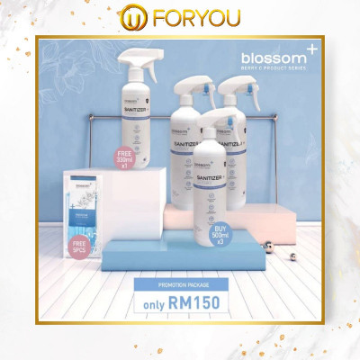 BLOSSOM+ Sanitizer Spray- Promotion Package